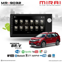 Head Unit Android Honda Brv/Mobilo/BRIO High Quality