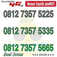 Nomor Cantik Simpati telkomsel 4G LTE seri 7357 ABBA