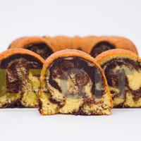 Premium Full Wijsman Marmer Cake / Bolu Marmer ( Marble Cake )