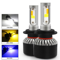 Foglamp Led Mobil H8 H9 H11 4 Warna Plus Strobo R222