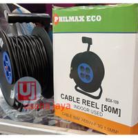 rol kabel 50 meter philmax kabel gulung