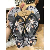 Sandal Jepit Rubi Shoes Thong Palm Leaf