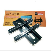 "BRACKET BREKET TV LCD LED STARFISH 10"" - 32"" FIX"