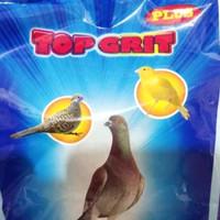 top grit suplemen pakan burung darah kenari perkutut love bird terkuk