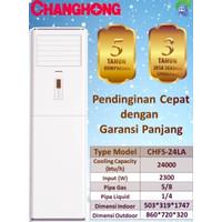 AC Floor standing Changhong 3pk CHFS-24LA R410a CHFS-24LA LS1 Phase