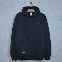 Sweater hoodie stwoz - Hitam, M