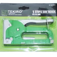 tekiro staple gun tacker ijo stapling staples tembak jok kulit karpet