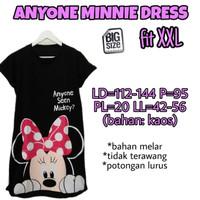 Anyone Minnie Dress XXL Baju Terusan Wanita Ukuran Jumbo