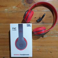 Headphone Wireless JBL Headset Bluetooth