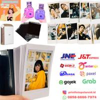 Jasa cetak print foto polaroid instax share sp-2 fujifilm refill
