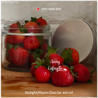 Mason Glass Jar 400ml