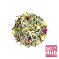 ROSY MOONLIGHT Tea Blend - White Tea Rose Jasmine flower 15 gram