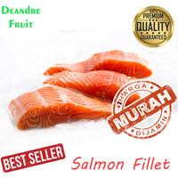 MURAH BANGET 250gr Ikan Salmon Fillet Grade Supermarket Frozen Beku