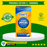 Ester-C Vitamin C, 1000 mg, 120 Tablets Made in USA