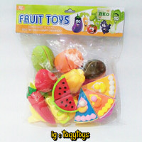 mainan anak fruit toy potong buah