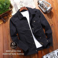 Jaket casual Bully army line premium