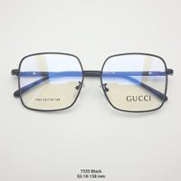 Kacamata Anti Radiasi korea lensa normal minus silinder frame petak