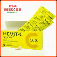 Vitamin C Hevit-C 500 mg 1 Box (100 Tablet)