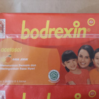 Bodrexin Jeruk Obat demam anak 1 dus isi 18 tablet [READY]