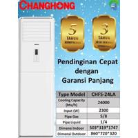 ac floor standing changhong 5pk r410a CHFS-48LA 3phase