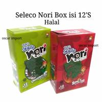 SELECO BOX 42G NORI SEAWEED RUMPUT LAUT