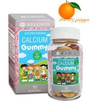 Wellness Calcium Gummy Kids kalsium anak 70 gummies