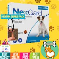 ORIGINAL REPACK Nexgard Obat Kutu Anjing (4-10kg) Sedang Medium Dog