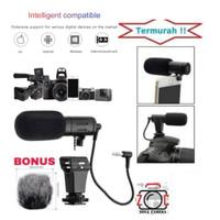 MAMEN Microphone MC-06 Shotgun Vlog Kamera & Smartphone Smule Youtube