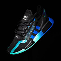 "Adidas NMD R1 V2 ""Black/Blue"""