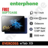 Tablet Evercoss ETab 10 Prime X9 3/32Gb Alternatif Advan Sketsa