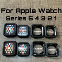 Ultra slim soft Silicone matte Apple watch case bumper iWatch series