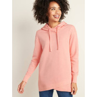 Sweater Old Navy French Terry Pullover Tunic Hoodie Peach Original