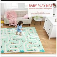 Baby Play Mat / Matras untuk Baby Foam Lipat uk JUMBO 200 x 180 cm