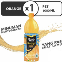 Minute Maid Puply Orange 1 Liter / 1.000 ML
