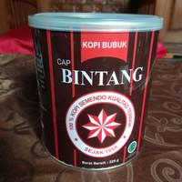 kopi bubuk cap Bintang Semendo (kemasan kaleng 225gr)