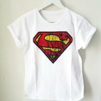 Kaos Superman Cewe Cotton 100%
