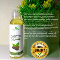 Castor Oil original - asli perawatan rambut tanpa bahan campuran