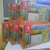 Nintendo switch console animal crossing new horizons - Tanpa Game