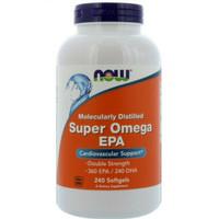 now super omega 3 omega3 minyak ikan fish oil 360 EPA 240 DHA 240 sg