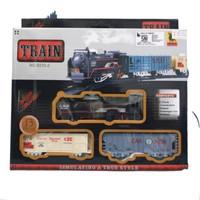 Mainan Kereta Api Track Set Classic Train Rail King