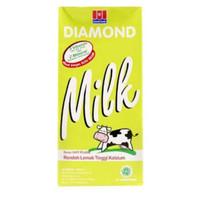 susu diamond 1 liter low fat