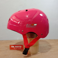 Helm SEPEDA VITANO PINK - Lipat / MTB / BMX / Skateboard / Skuter