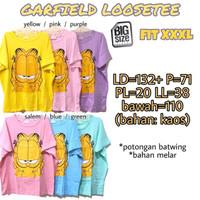 Garfield Loose 3L Baju Atasan Rumah Wanita Big Size Jumbo
