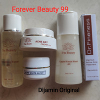 I'm Beauty Paket Acne White Glow 1 isi 5 - im beauty by Immortal
