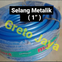 "(1"") Selang METALIK Tebal Kran Air Super Flex Slang SuperFlex 1 inch"