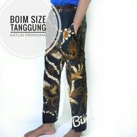 celana panjang batik boim betawi ukuran anak tanggung