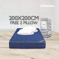 Inthebox - Kasur Hybrid Ukuran 200x200 (Super King)