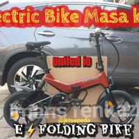 Sepeda Lipat Ebike UNITED iO E Series