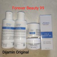 Primanesse paket acne glow gel super isi 5 - bekas jerawat + glowing