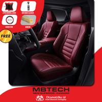 Sarung jok mobil Mitsubishi Outlander Otomotifku Bahan MBtech Camaro